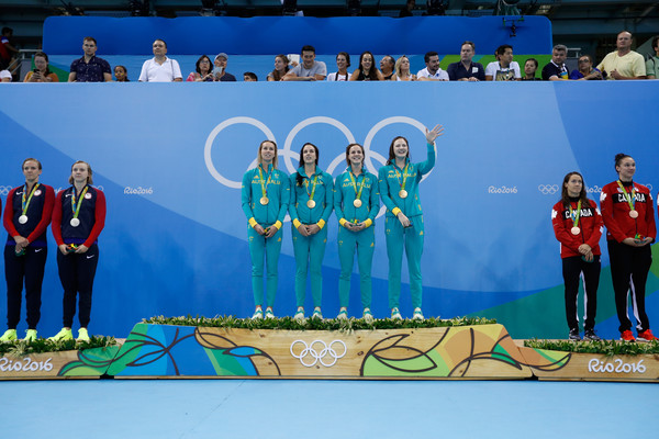 Australia swimming relay team
