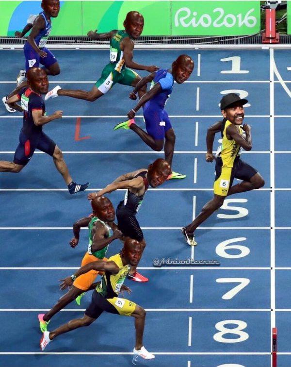 Bolt Photo Finish