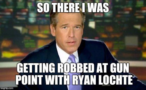 Brian Williams Lochte Meme