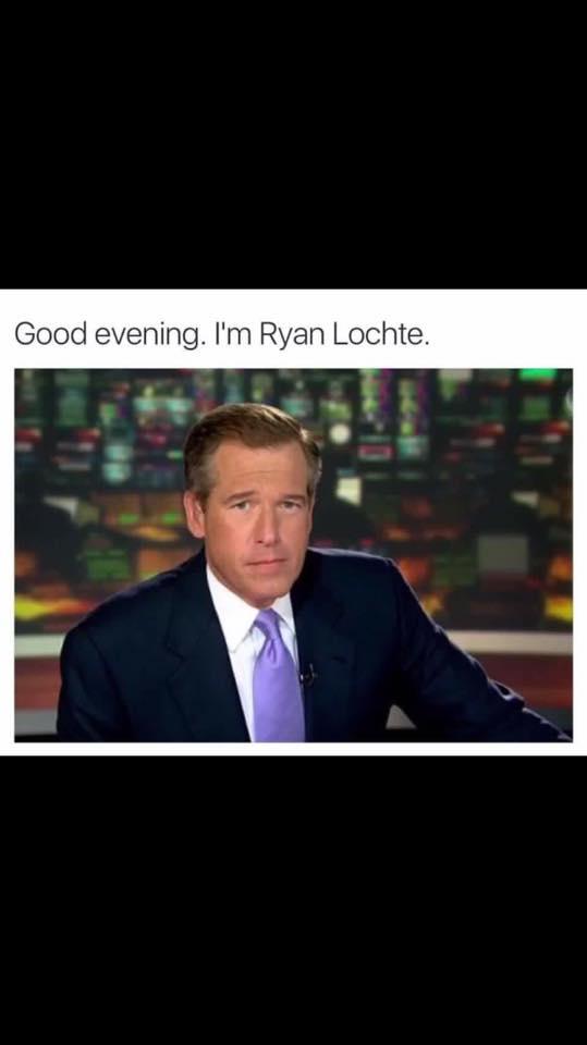 Brian Williams Ryan Lochte