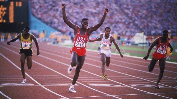 Carl Lewis 1984 Olympics