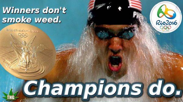 Champions Smoke Weed