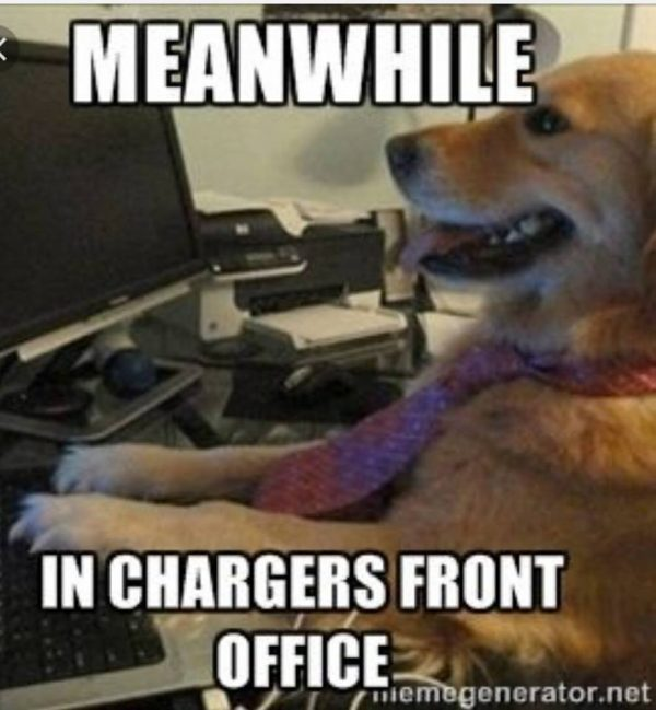 Chargers front office