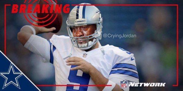 Crying Jordan Romo