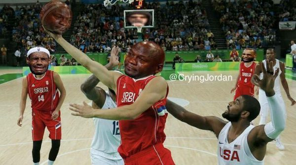 Crying Jordan Serbia