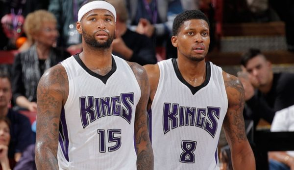 DeMarcus Cousins, Rudy Gay
