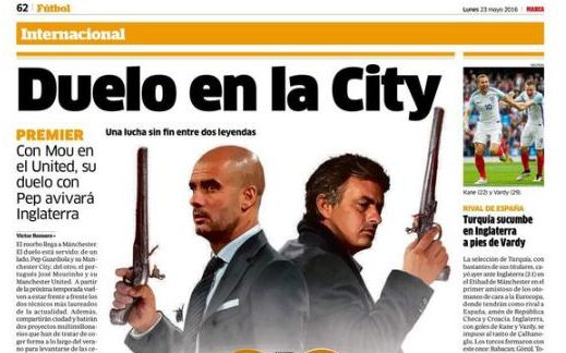 Duelo en la City Headline