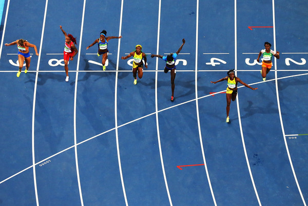 Elaine Thompson 100 meters