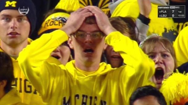 Famous Michigan Football Fan