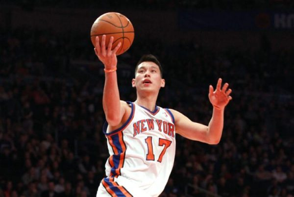 Jeremy Lin scoring 25 points vs the New Jersey Nets, in the game that started Linsanity