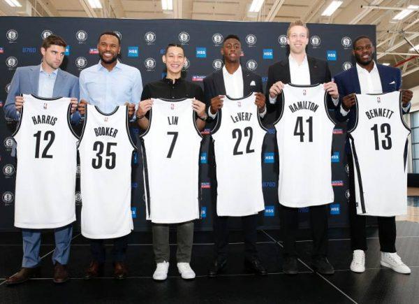 Jeremy Lin & Nets Free Agents