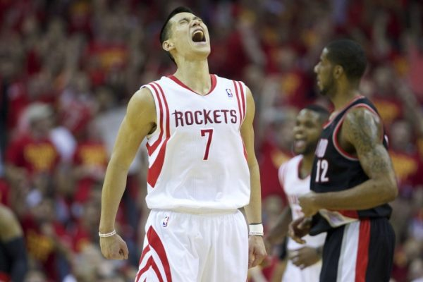 Lin helping the Rockets stay alive in the playoffs with 21 points against Portland