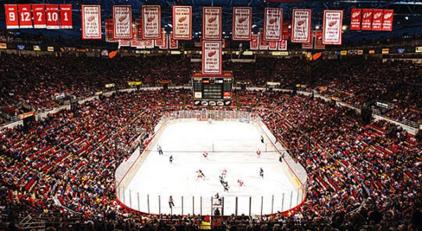 Joe Louis Arena Red Wings