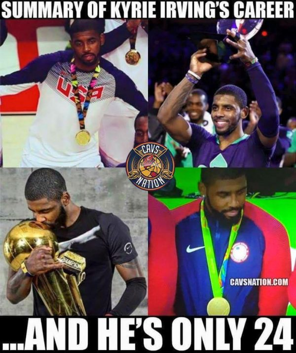 Kyrie Irving Career