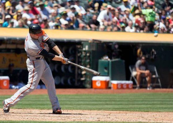 Mark Trumbo Grand Slam Home Run