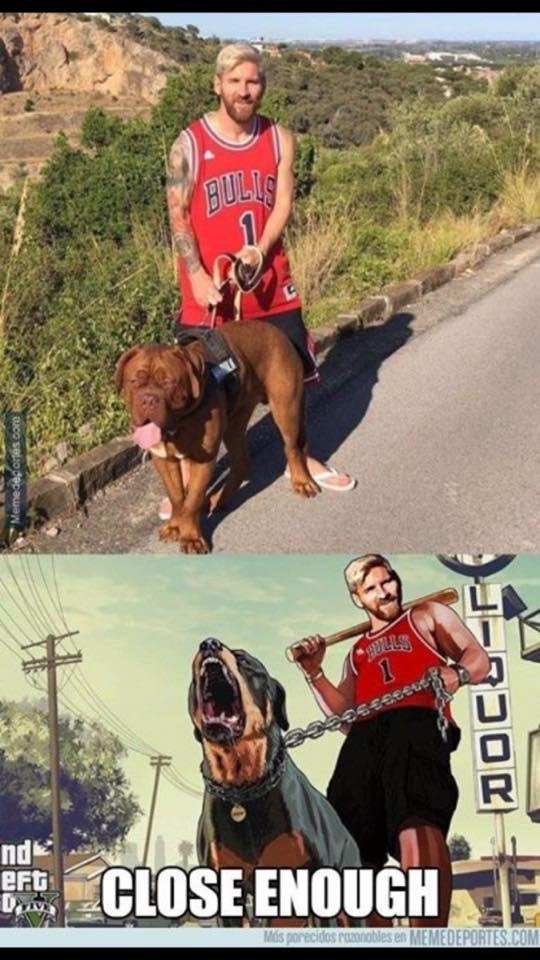 Messi GTA