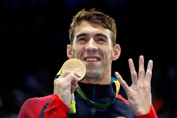 Michael Phelps 4th gold