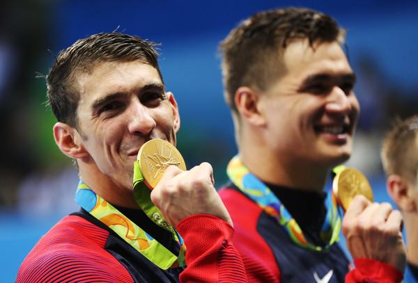 Michael Phelps, Nathan Adrian