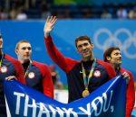 Michael Phelps & Team USA
