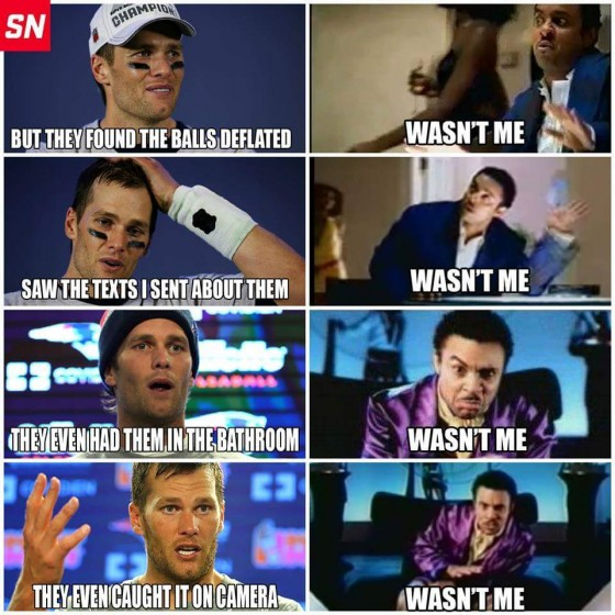 Patriots Brady Cheating Meme