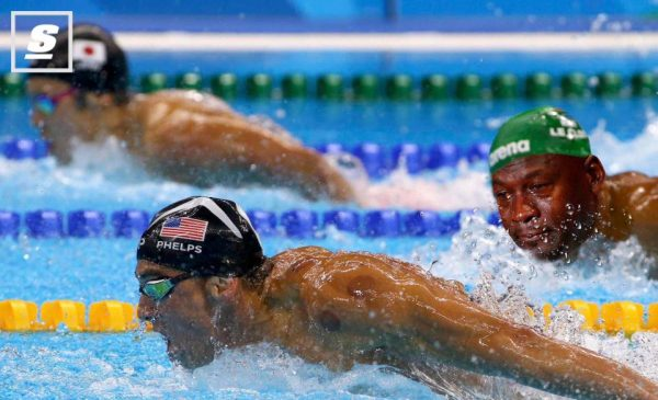 Phelps Le Clos crying jordan
