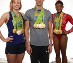 Phelps, Ledecky, Biles