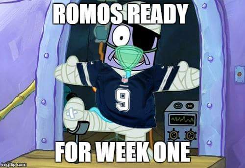 Romo ready for week 1