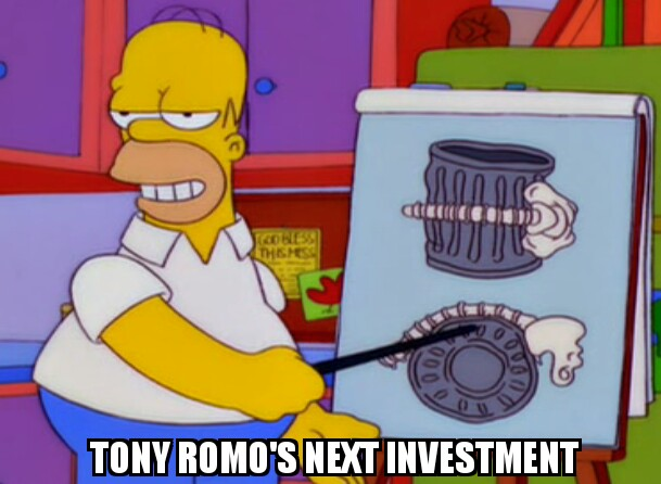 Romo simpsons