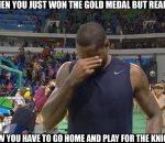 Sad Carmelo