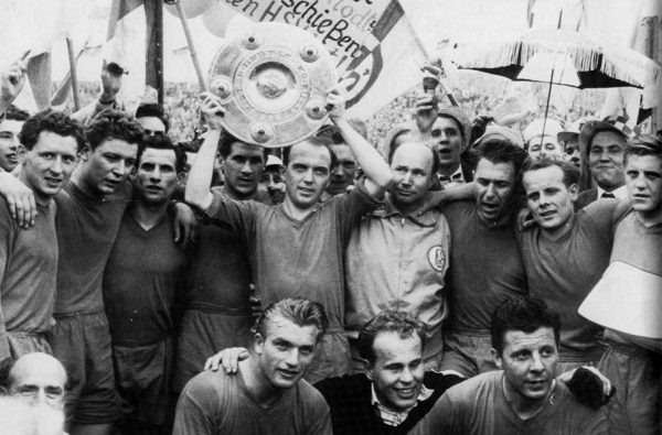 Schalke 1958 champions