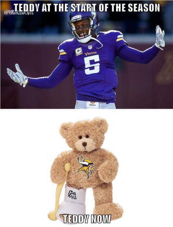 Teddy now