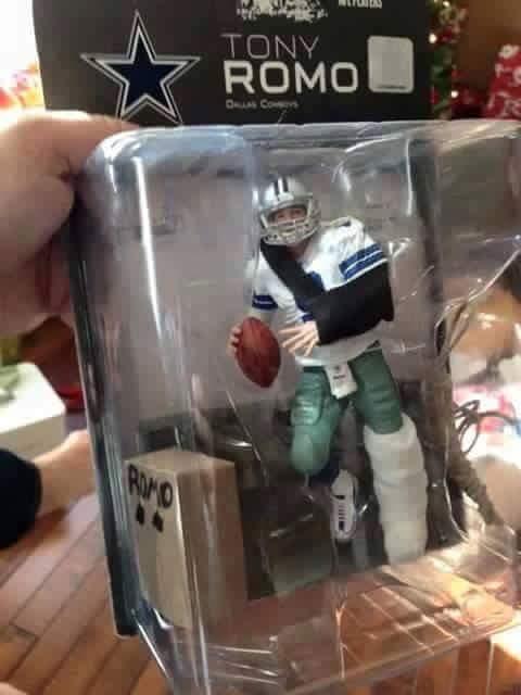 Tony Romo doll