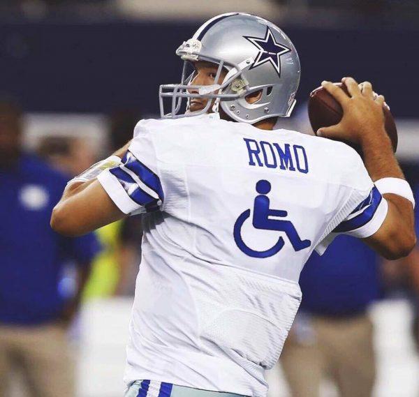 Tony Romo new number