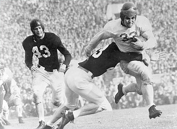 USC, Alabama, 1946 Rose Bowl