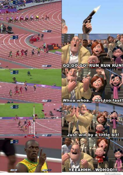 Usain Bolt The Incredibles
