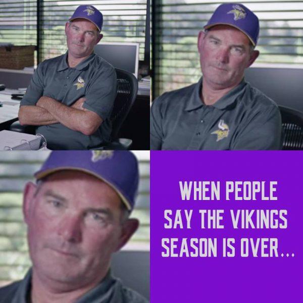 Vikings season is over