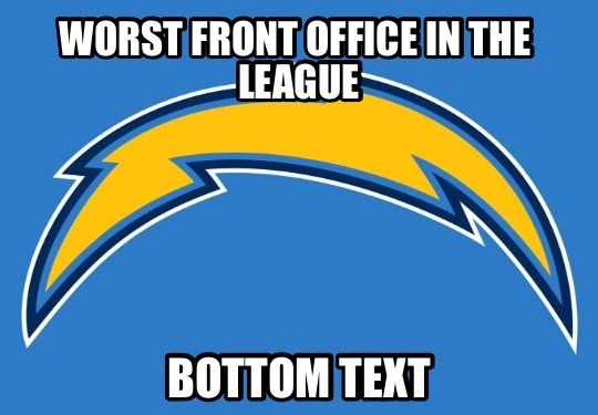 WOrst front office in the league