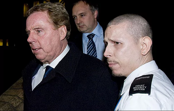 Harry Redknapp arrested