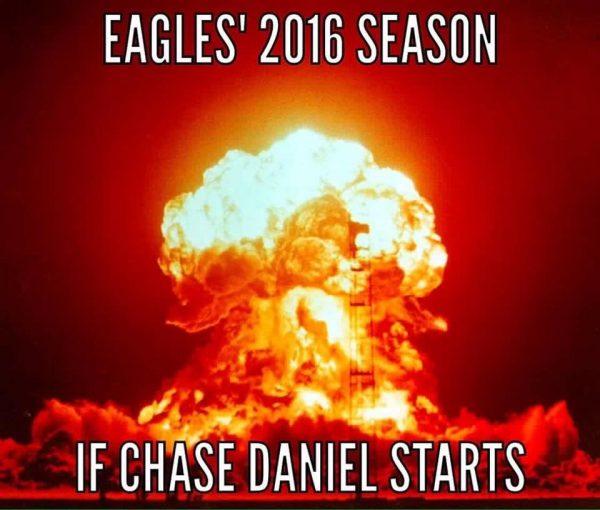 Chase Daniel Starting