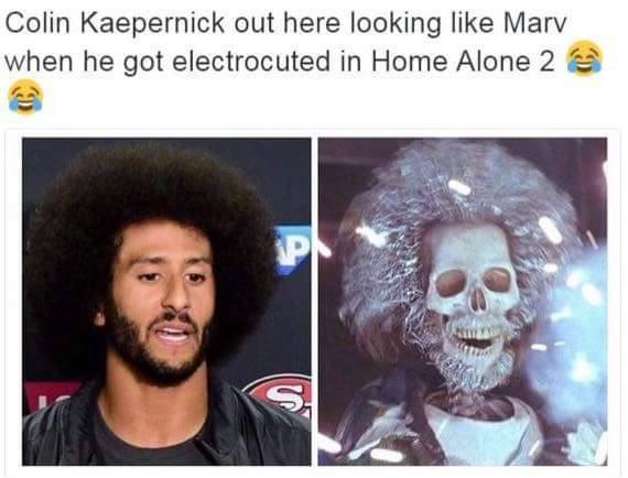 colin-kaepernick-home-alone