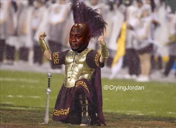 Crying Jordan Trojan