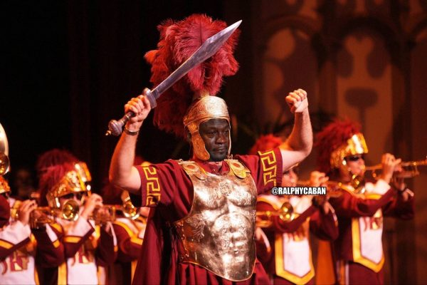 Crying Jordan Trojan mascot