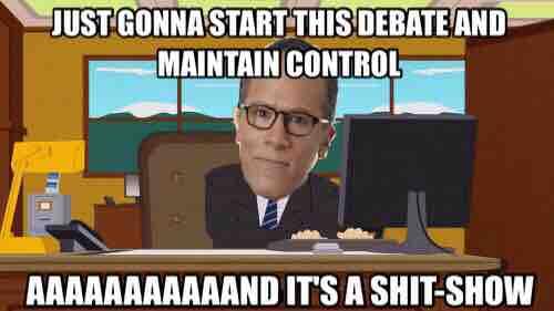 debate-shit-show