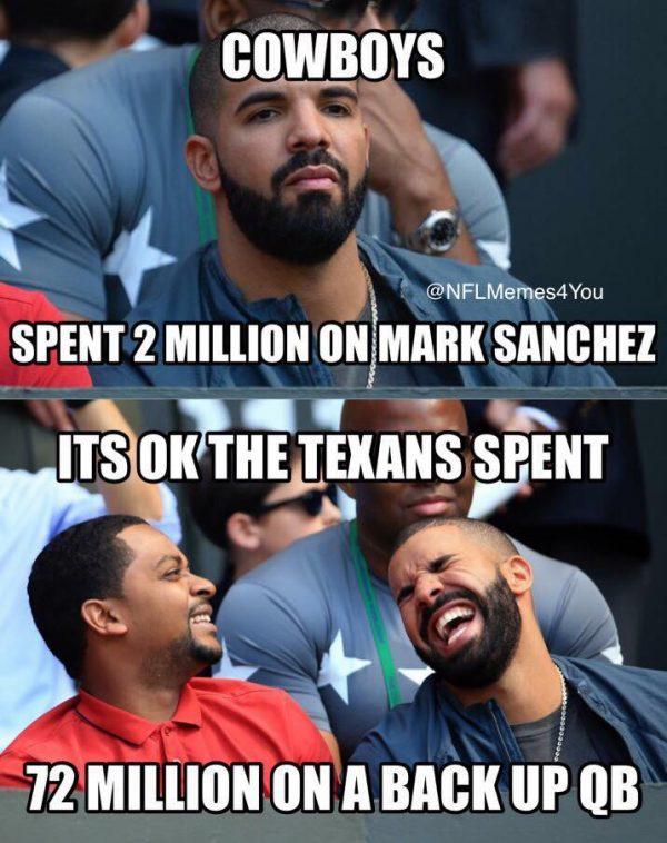 Drake Mark Sanchez Joke