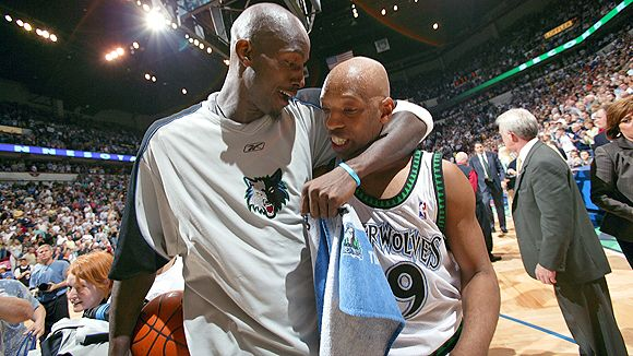 With Sam Cassell