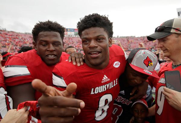 Lamar Jackson, Louisville