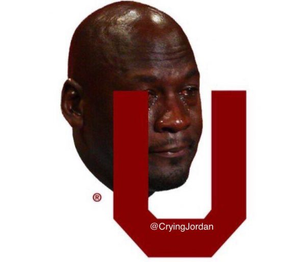 OU Crying Jordan