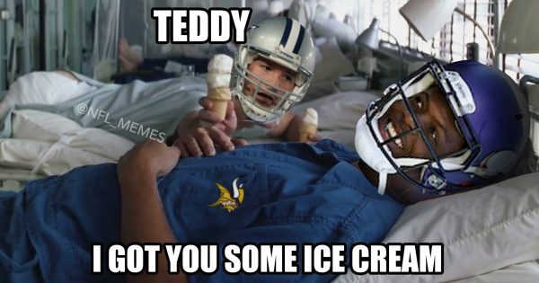 Romo Bridgewater Meme Forrest Gump