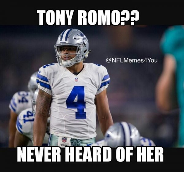romo-never-heard-of-her