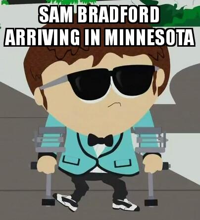 Sam Bradford South Park